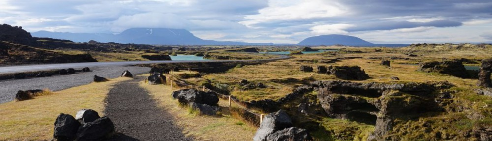 Island Reisen: Gegend in Myvatn