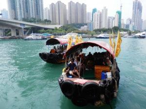 China Rundreise: Hongkong Harbour